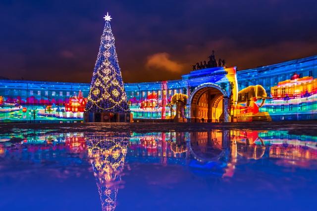 Новогодний Петербург 2020 #Moskva